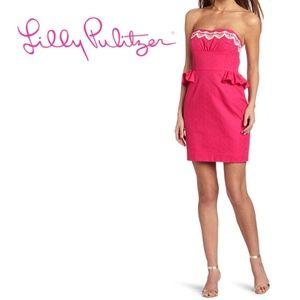 NWT Lilly Pulitzer Azalea Pink Maybell Dress 10